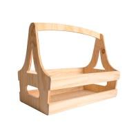 Caja de madera revistero 24x40x32