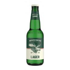 Cerveza Lager Moosehead Botella 355 ml