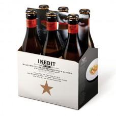 Cerveza de Trigo Inedit Damm Botella 6 Pack 330 ml