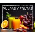 Pulpas y Frutas