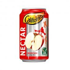 Nectar de Manzana California Lata 330 ml