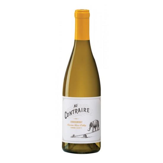 Vino Au Contraire Blanco Chardonnay California 750 ml