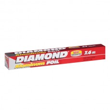 Papel Aluminio 25 Pies Diamond