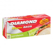 Bolsa Resellable Para Sandwich 50 Bolsas Diamond