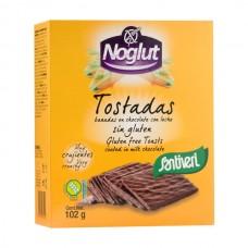 Tostadas Noglut Bañadas con Chocolate Santiveri 102 gr