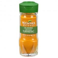 Cúrcuma Molida Orgánica Vidrio McCormick 38 gr