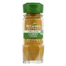 Curry Molido Orgánico Vidrio McCormick 49 gr