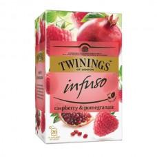 Té Infuso Frambuesa Granada Twinings 20 bolsas