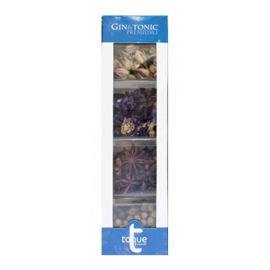 Estuche Bótanicos para Gin&Tonic Premium I (Rosas,pimienta jamaica,flor de malva y aniz estrallado) 121gr