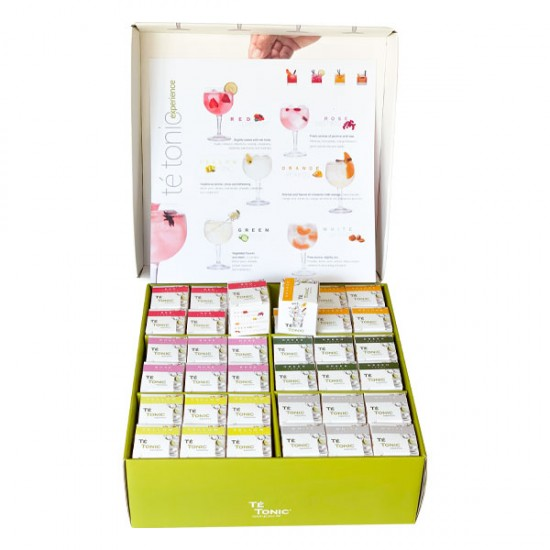 Té Tonic Gynlover Bartender Box 72 infusiones