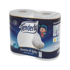 Papel Higiénico Tenderly CDL 250 HD10X4 811B36