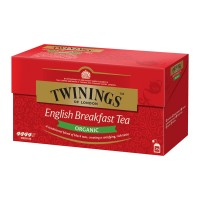Té orgánico English Breakfast Twinings 25 bolsas