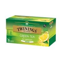 Té orgánico verde con limón Twinings 25 bolsas