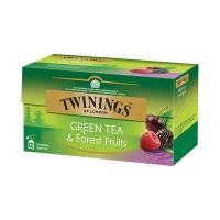 Té verde con frutos silvestres Twinings 25 bolsas