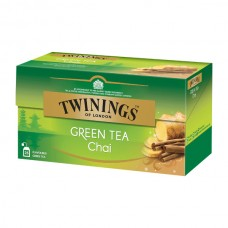 Té verde Chai Twinings 25 bolsas