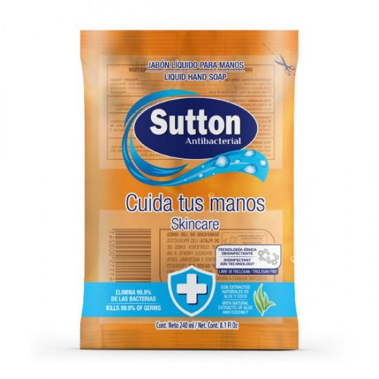 Jabón líquido para manos bolsa 240 ml
