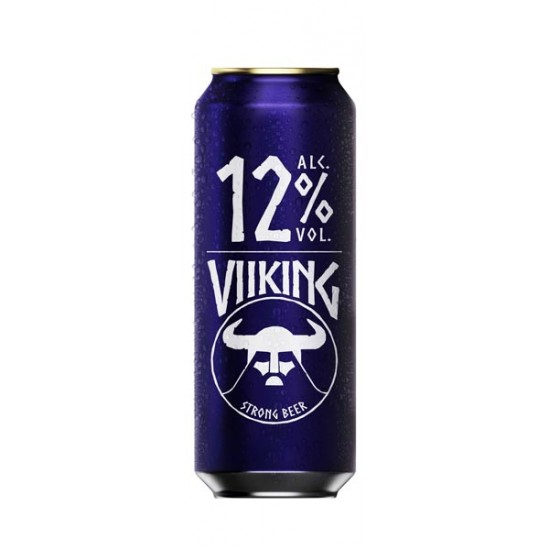 Cerveza Viking Strong lata 500ml 12% alcohol