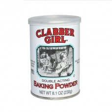 Polvo de hornear Clabber Girl 8onz