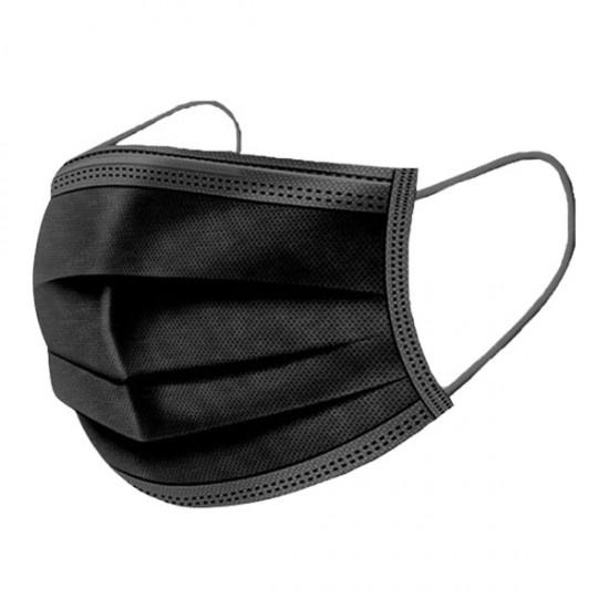 Mascarilla desechable negra caja 50 unidades