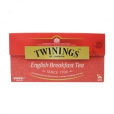 Té Negro Desayuno Inglés Twinings 25 bolsas