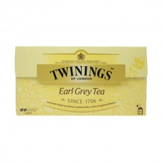 Té Negro Earl Grey Twinings 25 bolsas
