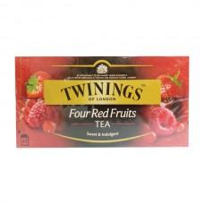 Té Negro Cuatro Frutas Twinings 25 bolsas