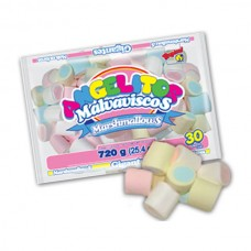 Marshmallows Gigante Bicolor Guandy 720 gr