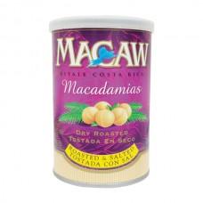 Macadamia con sal Macaw Lata 80 gr