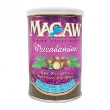 Macadamia Chocolate Macaw Lata 156 gr