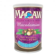 Macadamia Chocolate Macaw Lata 340 gr