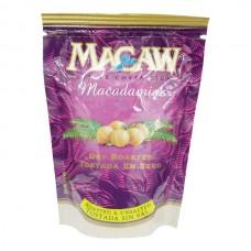 Macadamia sin sal Macaw Bolsa 80 gr