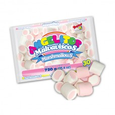 Marshmallows Gigante Fresa Guandy 720 gr