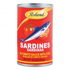 Sardina Tinapa Picante Roland 155 gr