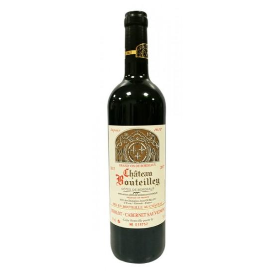 Vino Chateau Bouteilley Tinto Cote de Bourdeaux 750 ml