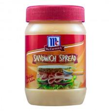 Sandwich Spread Frasco McCormick 195 gr