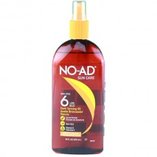 Aceite Bronceador NO AD FPS 6 475 ml