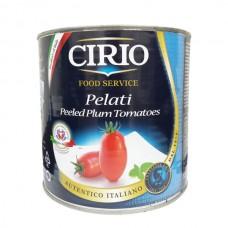 Tomate Pelado Lata Cirio 2.5 kg