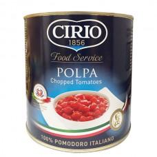 Tomate en Trozos Lata Cirio 2.5 kg